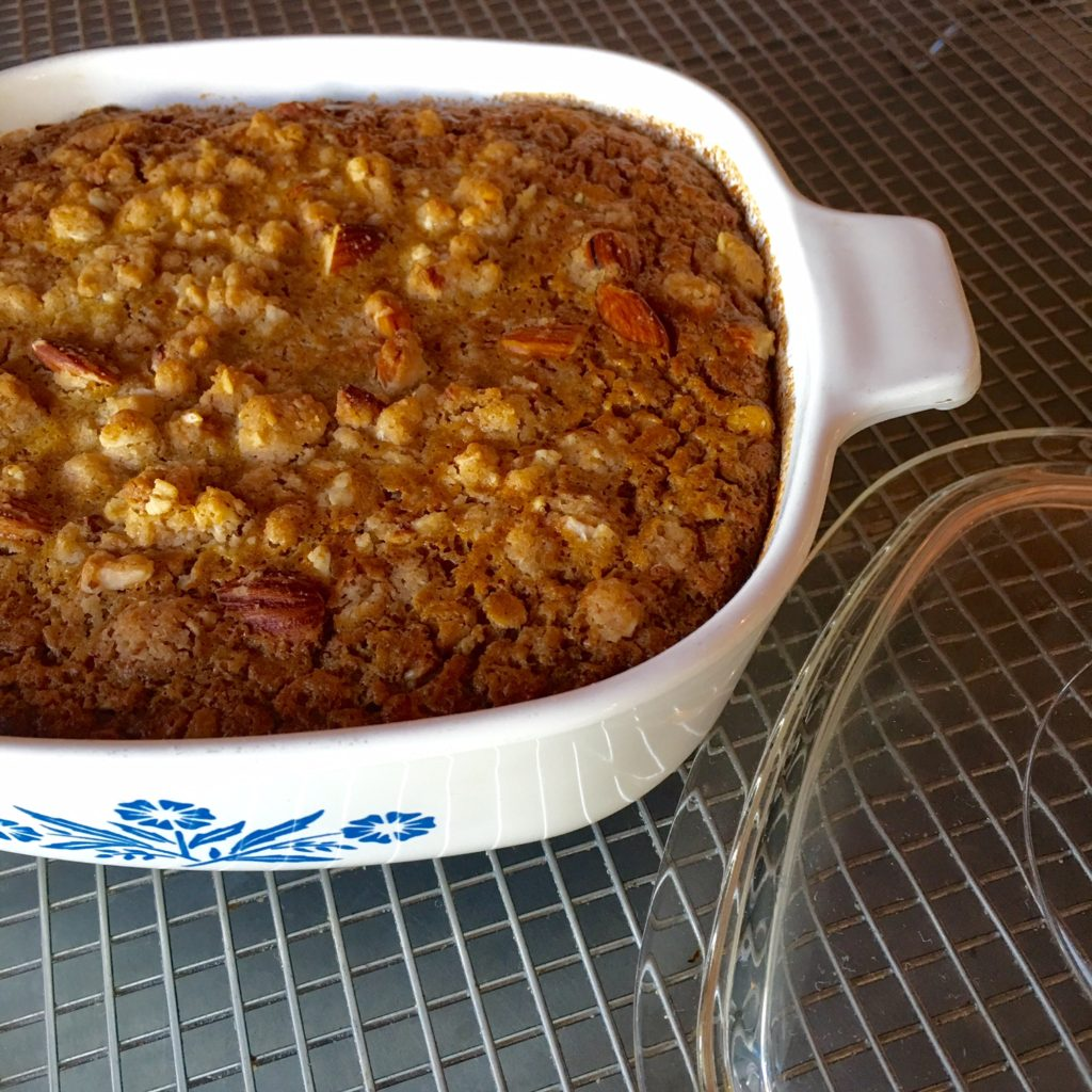 Baked Pumpkin Rolled Oats with Raisins